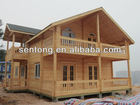 Hot Sale Two Storey Prefabricted Wooden House Villa