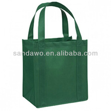 Green Big Size Non woven Grocery Bag for the Beach (N601110)