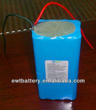Electric bike battery 14.8v 10000mah lithium battery packs