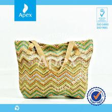 wholesale tote beach straw bag