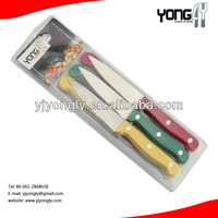 6pcs Stainless Steel vegetable carving knife set