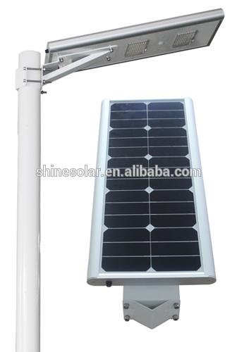 2013 latest model sunpower cells for LED Solar street light 12V/24V