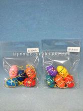 de madera de pascua huevos de pascua para la decoración de regalo