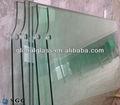 de alta la calidad de 10mm 12mm de vidrio templado y el peso de vidrio precio por metro cuadrado