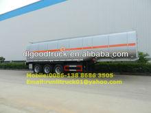 2012 Newly 3 axles 40 tons oil tanker semi trailer,fuel tanker semi trailer,petrol tanker semi trailer