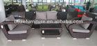 2013 new design! Plastic rattan wicker cane outdoor furniture patio sofa set waterproof