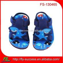 2013 new cartoon style flat children sandals