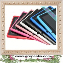 most affordable capacitive super thin 7 inch Q88 zigbee android tablet pc