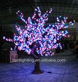 Rgb led de árboles, led del árbol de navidad la luz