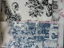 printed sofa cotton fabric