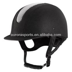leather vintage horse helmet, attractive equestrian riding helmet