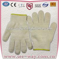 White Cotton kitchen Cooking hand glove