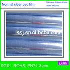 1536 pvc flexible plastic sheet soft clear film