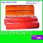 1572 pvc garment bag film soft super clear transparent
