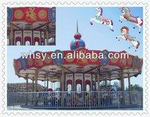 Popular Amusement facility amusement park carousel for sale