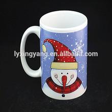 ceramic gift mug,cheap ceramic mugs for christmas,snowman gift christmas ceramic coffee mug