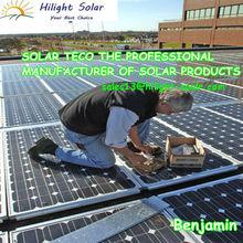 High efficient Mono 300W solar panel with TUV ISQ CE IEC