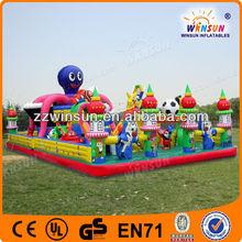 interesting play children air fun inflatables amusement sport city