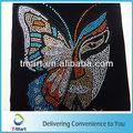 venta al por mayor caliente del arreglo de la mariposa de diamantes de imitación de transferencia