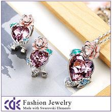 Fashion Rosy Crystal Gift