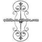 wrought iron railing parts/decorative wrought iron panels
