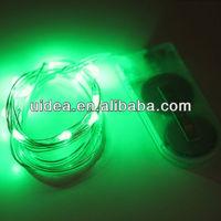 Led Rain Drop Christmas Lights / Battery Operated Led String Lights