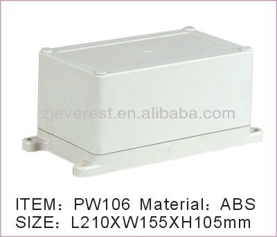 Plastic Waterproof Dustproof Enclosure for Electronic