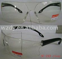 UV protection polycarbonate ansi safety eyewear