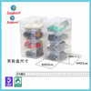 china offer stackable transparent plastic shoe box