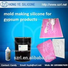 liquid ( RTV-2) silicone rubber for gypsum mould