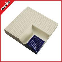 ceramic anti slip swimming pool tile angular shapes