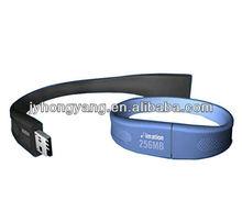 silicon bracelet usb memory