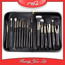 MSQ 29pcs top quality black bag professioanl cosmetics brush