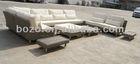 2014 new style outdoor garden grey rattan luxury sofas outdoor furniture