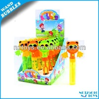 Hot sell bubble toys Spectacled bear rattle game bubble stick /party bubble water