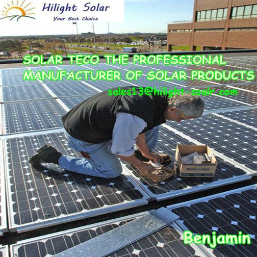 hilight 250w مونو بولي الألواح الشمسية الكهروضوئية
