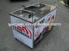 Snack Sale Mobile Food Cart For Frying China Smart Car YS-ZJ1200