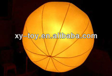 Party inflatable led decorative balloon light for events