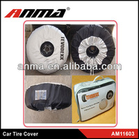 Hot sell custom leather spare tire covers