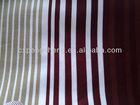 100% Polyester Stripe Satin Fabrics