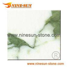 Arabescato White Marble Tile