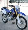 EEC 400cc motocross dirt bike
