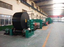 Raised Edge Conveyor Belt Making Machine / Conveyor Belt Vulcanizing Machine