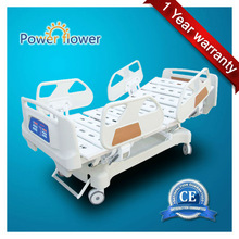 CE ISO approved ICU 4 parts Electric hospital Medical bed with CPR function
