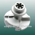 Caso de aluminio de fundición a presión de toyota distribuidor tapa/piezas de toyota