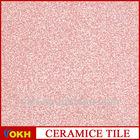 Pink glitter floor tiles