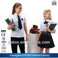 Venta caliente precio de fábrica de ropa de la escuela, todos los estudiantes de los grados de la escuela uniforme