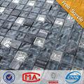 Jtc-1323 nuova promozione mosaico onda vetro e cristallo grano mix di marmo colore profondo mosaico di progettazione