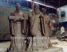 Bronze Confucius' statue