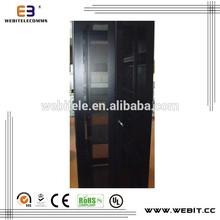 server rack+19 inch installation+spcc cold rolled steel+nine/fourteen folds frame+ telecommunications 42u server cabinet